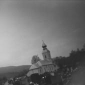 Habura, nový kostol